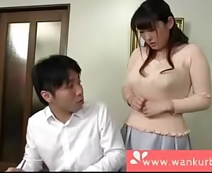 Big Tit Asian Fucks A Nerd - Part 2 at www.wankurbate.com