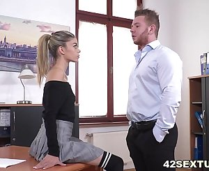 Tiny Ciara Riviera enjoys butt fuck