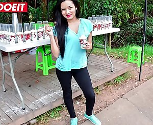 LETSDOEIT - Petite Latina With a Big Ass Gets Tricked into Rough Lovemaking
