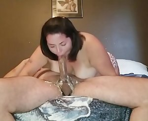 Sexy BBW in EXTREME Deepthroat Face Fucking