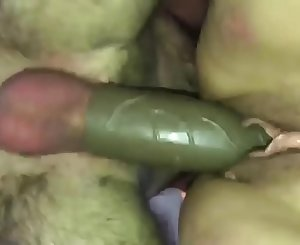 Nasty BBW Fucked Hard with a Thick Penis Extension