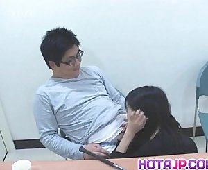 Sayuri Marui has snatch touched under panty
