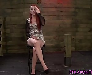 Ginger slaves cunt toy